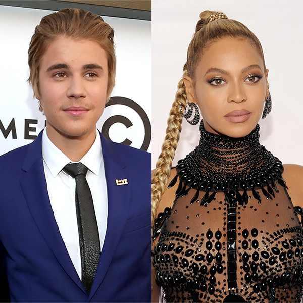 """Photo of Justin Bieber faz montagem hilária com foto de Beyoncé e diz: """"Minha irmã"""""""