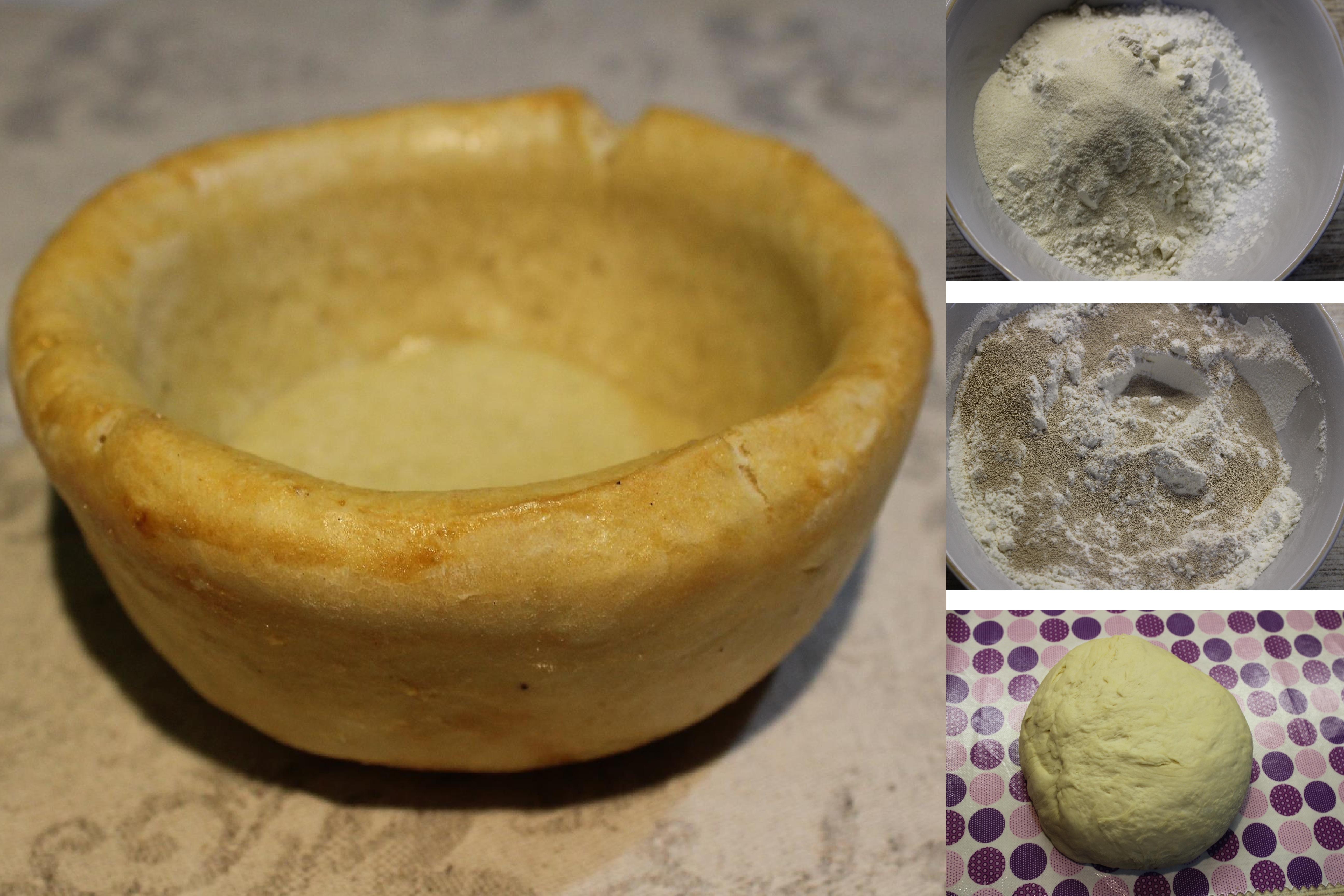 Хлебные тарелки для супа своими руками: пошаговый фото рецепт