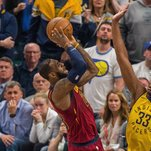 N.B.A. Roundup: LeBron James Scores 32 as Cavaliers Tie Series With Pacers