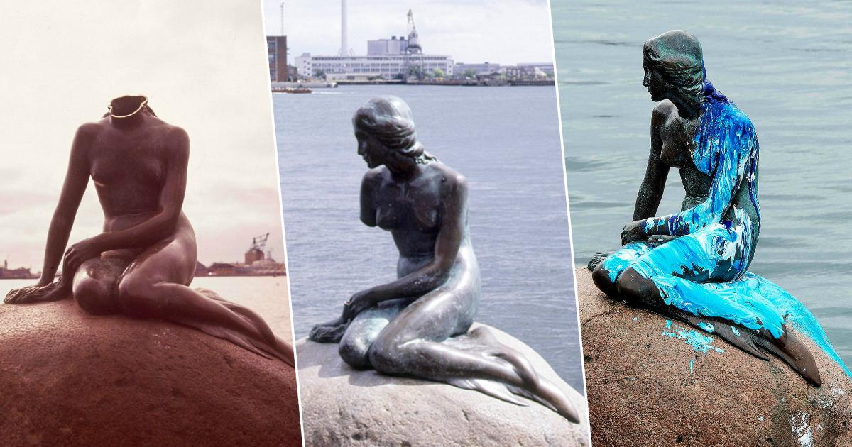 Русалочка из Копенгагена: самый многострадальный памятник в истории