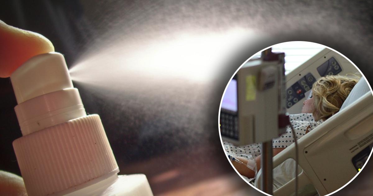 Фото 15-летняя школьница скончалась от отравления дезодорантом