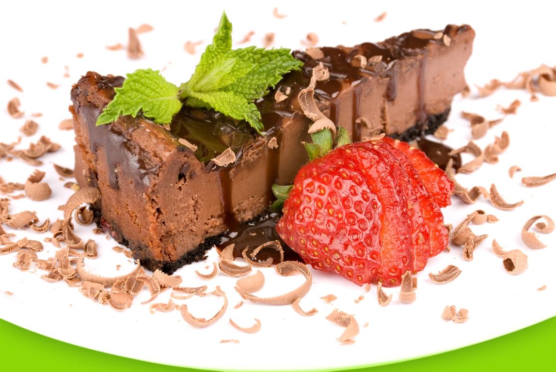 Домашний шоколадный чизкейк без выпечки