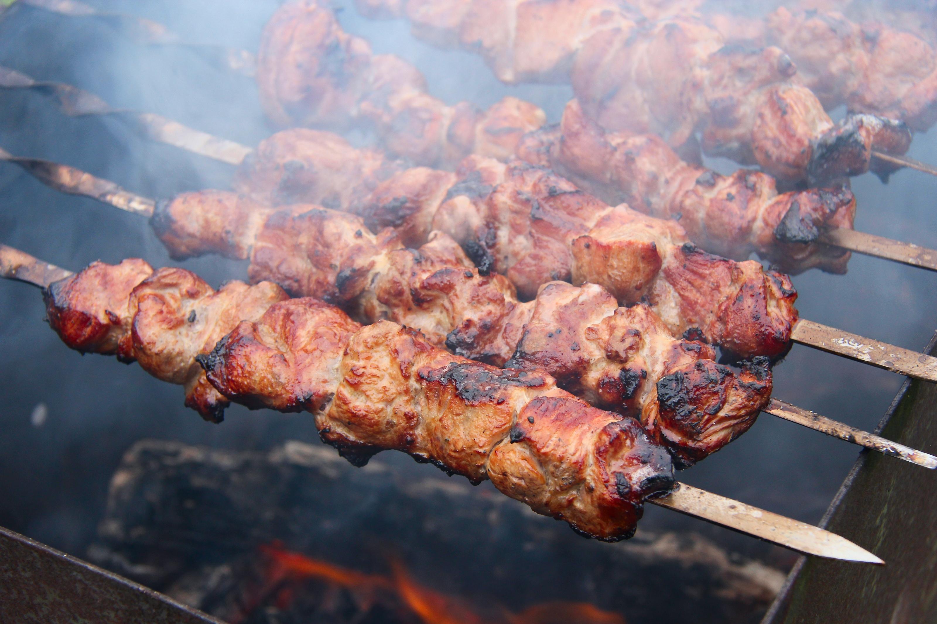 Шашлык из свинины мягкий