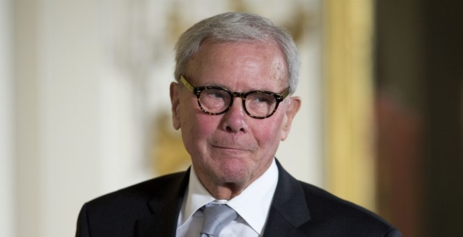 "Photo of Tom Brokaw on sex harassment charges: I'm the victim of a media ""drive-by shooting"""