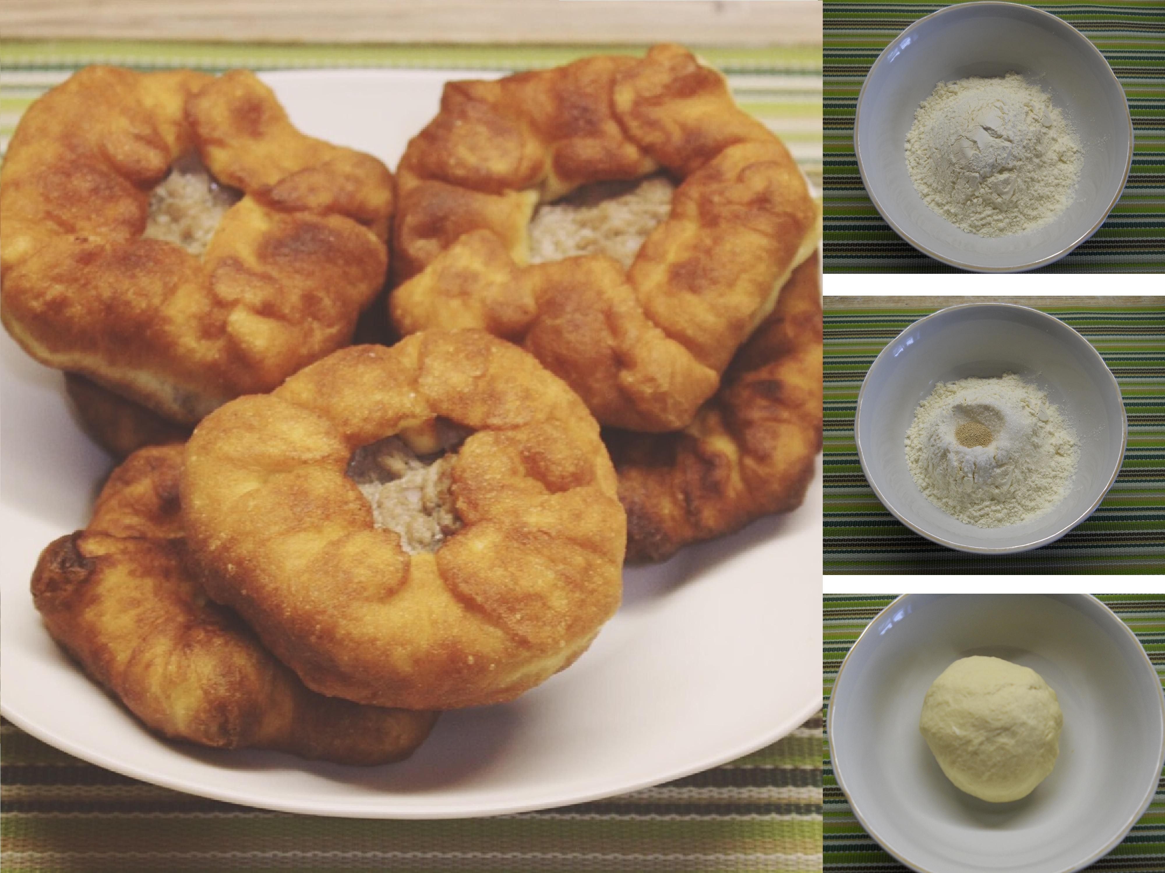 Домашние беляши с мясом: пошаговый фото рецепт