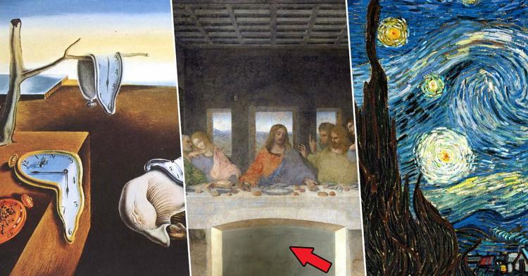 """Фото Секрет """"Тайной вечери"""": неожиданные факты об известных картинах"""
