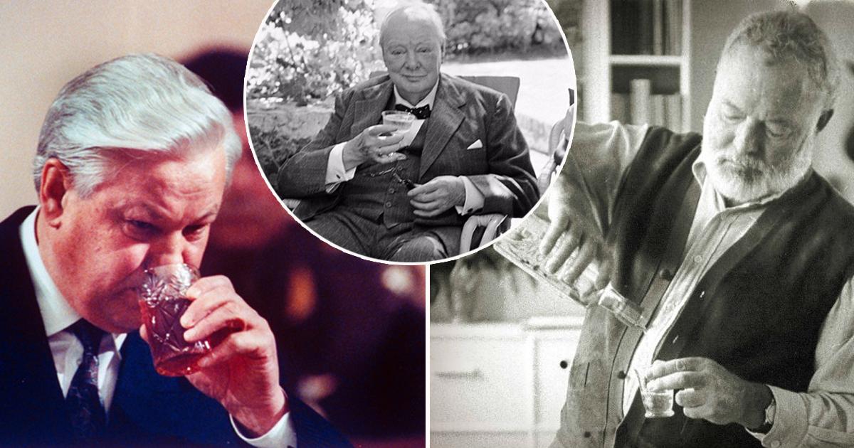 Фото От Нефертити до Ельцина: известные личности, страдавшие от тяги к алкоголю