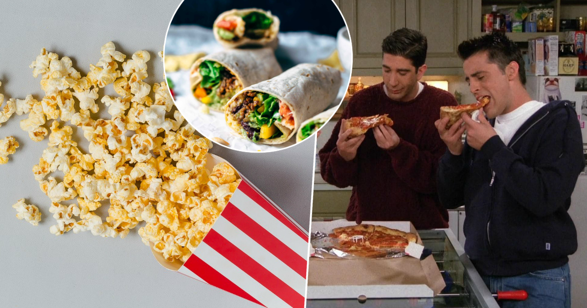 От пиццы до попкорна: здоровые свойства нездоровых продуктов