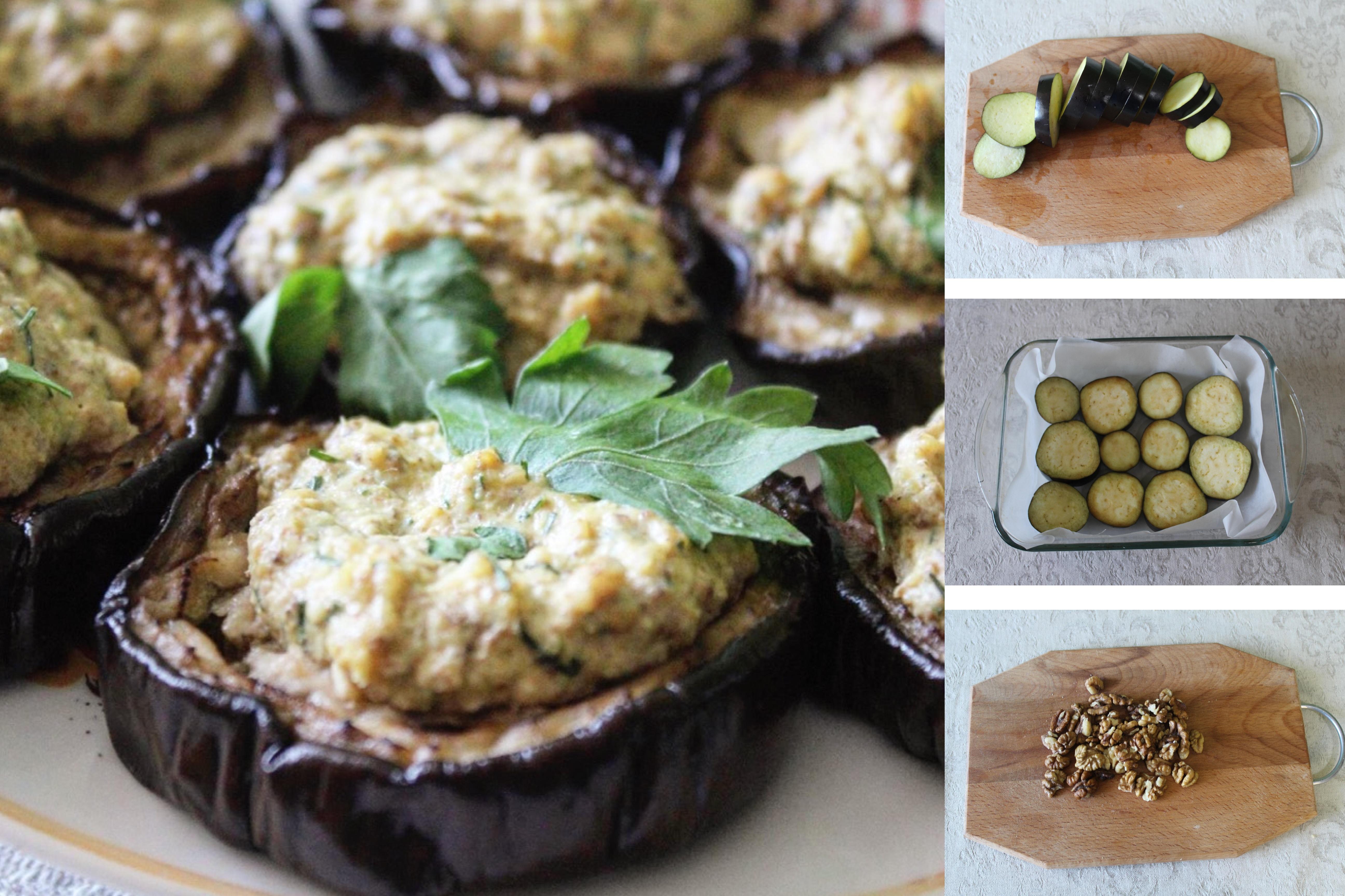 Пошаговый фото-рецепт: Пикантная закуска с баклажанами с соусом Баже