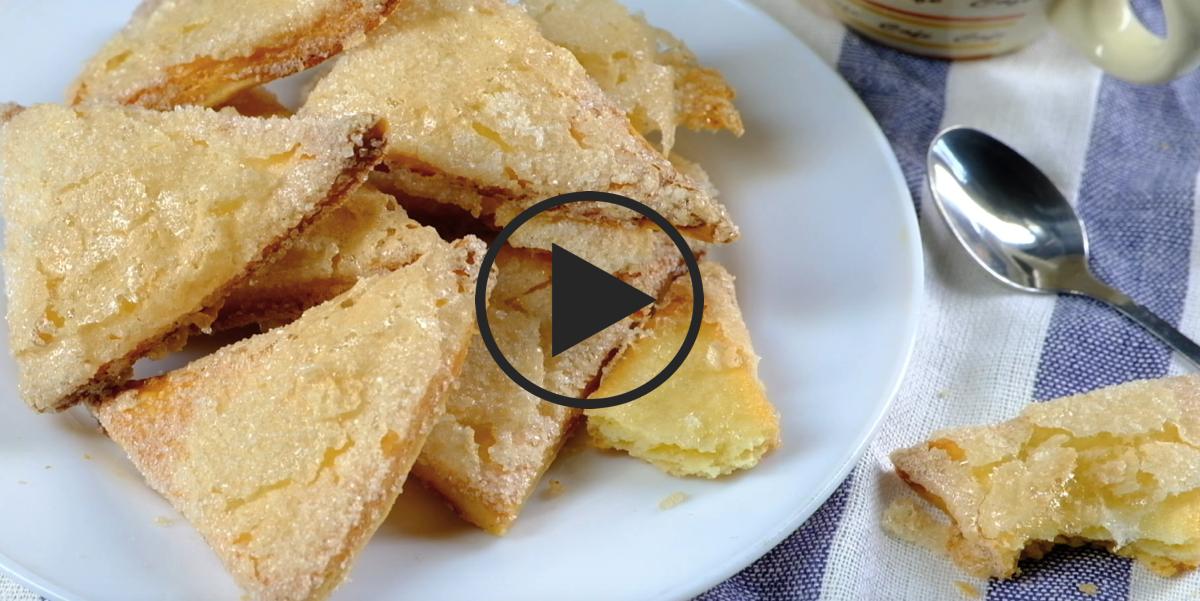 Видео-рецепт: Слоеное тесто за 15 минут