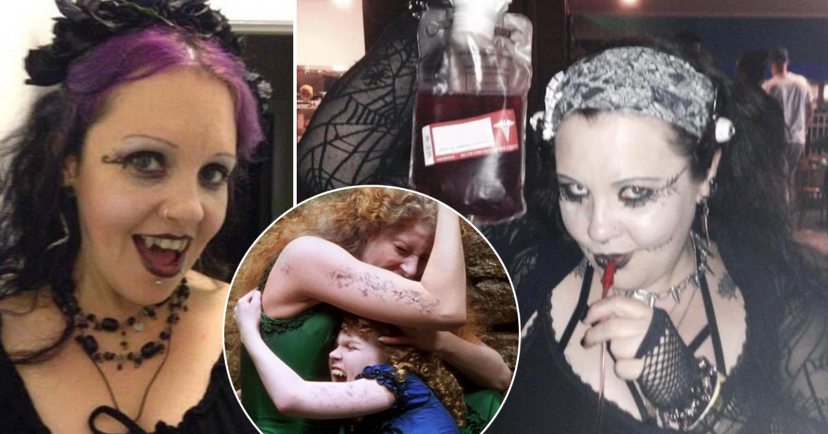 Женщина-вампир из Австралии пьет кровь и не выходит на солнце более 20 лет