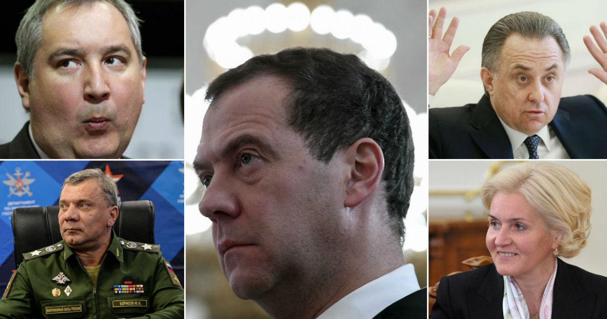 Мало не покажется. Медведев назвал кандидатов в новое правительство