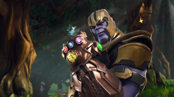 Photo of Thanos is in 'Fortnite' now, which means dancing Thanos is a thing