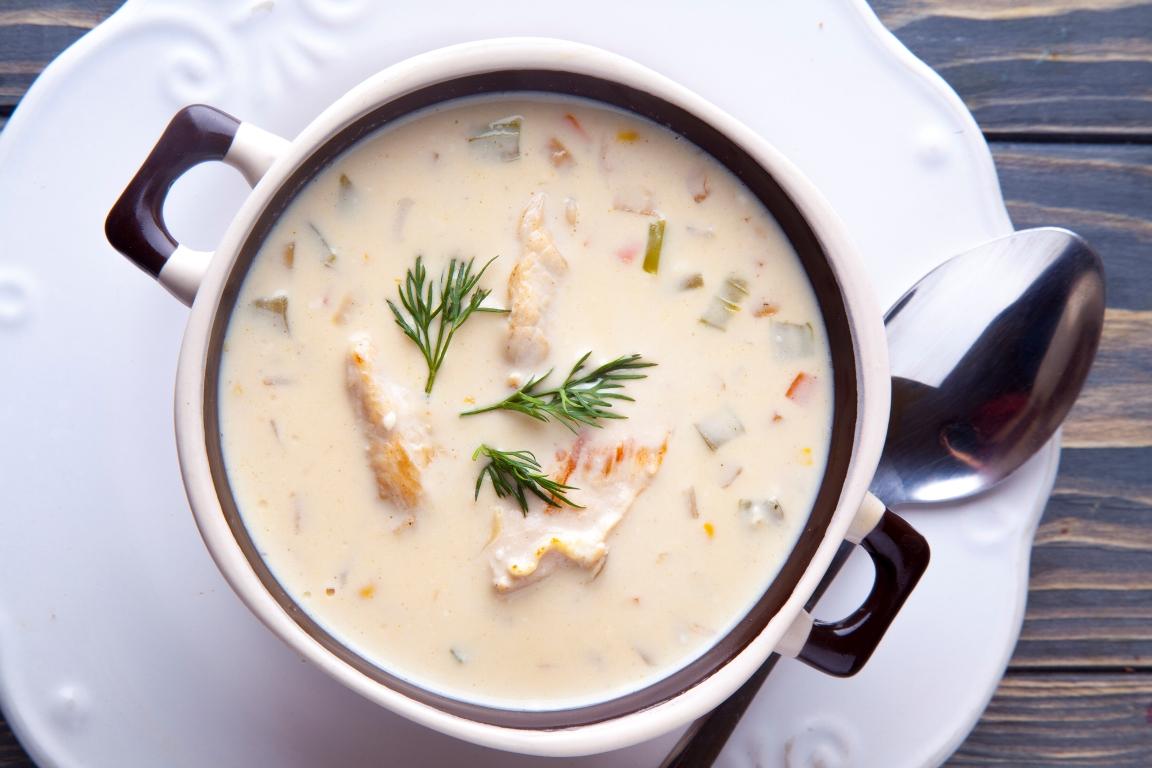 Нежнейший куриный суп с плавленым сырком