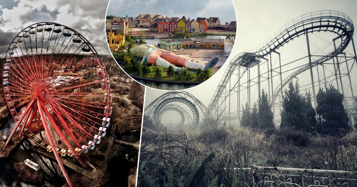 Фото Диснейленд для взрослых: заброшенные парки развлечений с жуткой атмосферой
