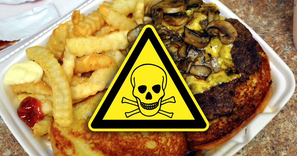 Фото Блюда-убийцы, которые уничтожают человеческое сердце