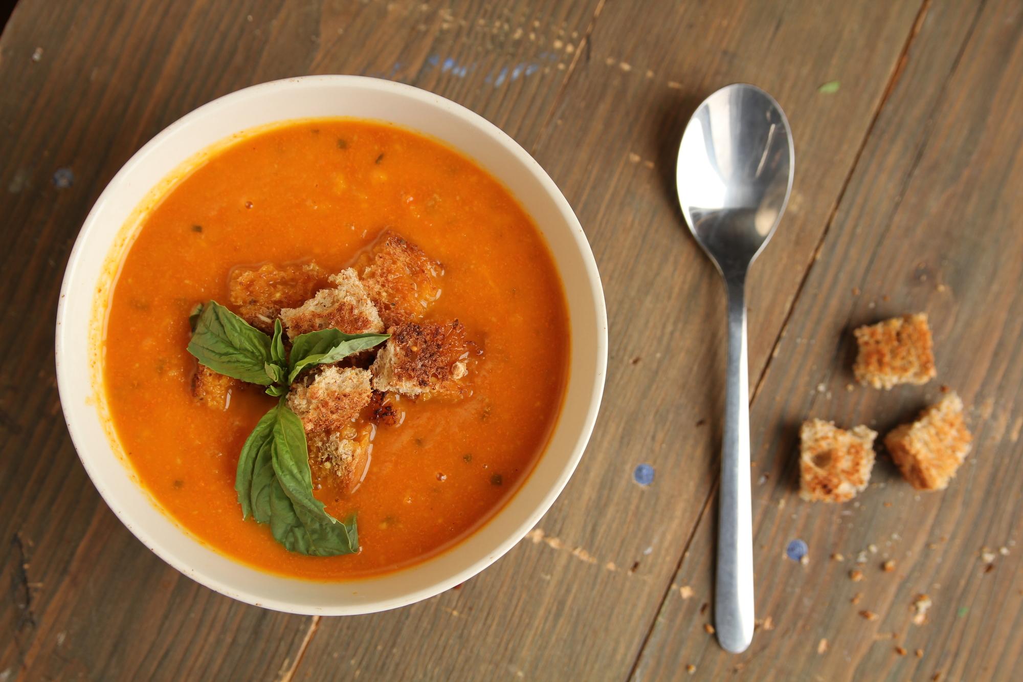 Крем-суп из молодой моркови и имбиря