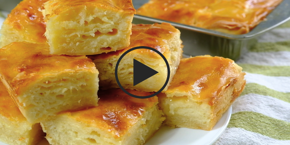 Видео-рецепт: Погача с сыром
