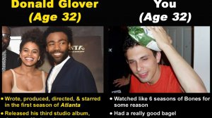 Donald Glover vs. You (At Every Age)