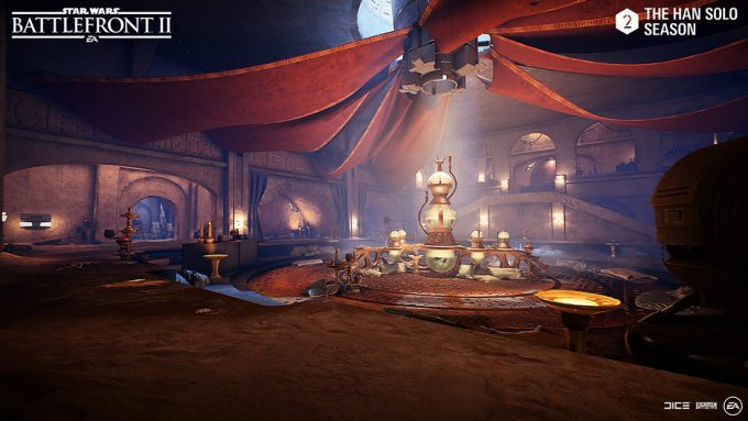 Photo of Star Wars Battlefront 2: Han Solo Season with Jabba's Palace arrives May 16