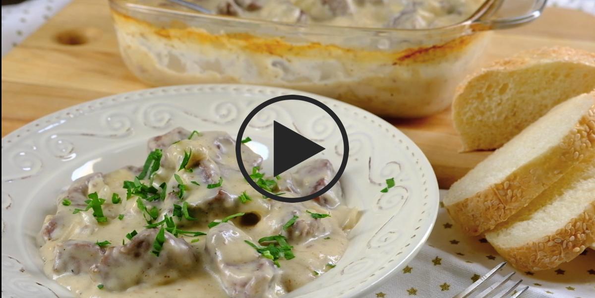 Видео-рецепт: Говядина в густом соусе