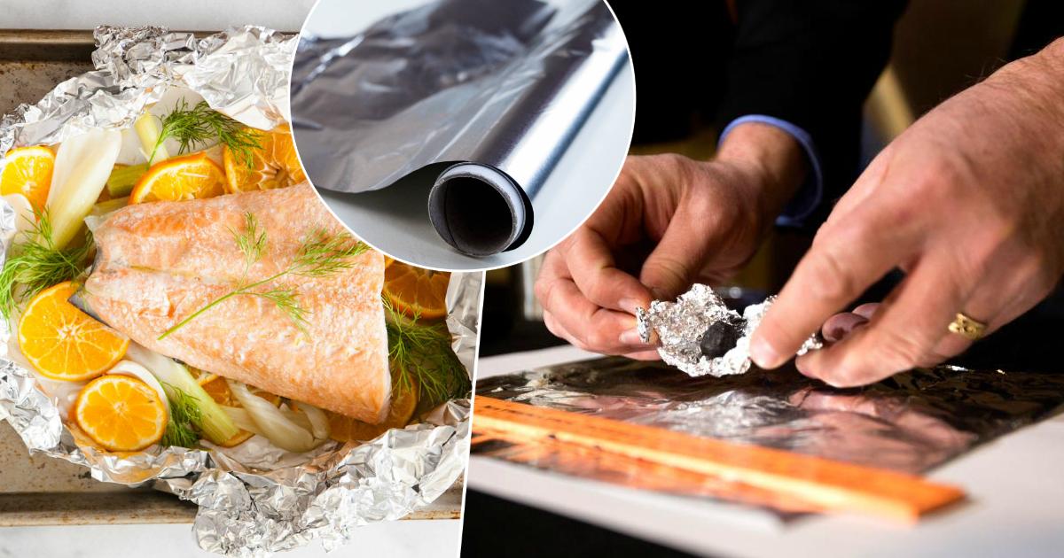 Удар по почкам: почему нельзя готовить в алюминиевой фольге