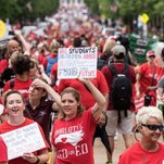Teacher Walkouts Spread to North Carolina, but the Movement Has Limits