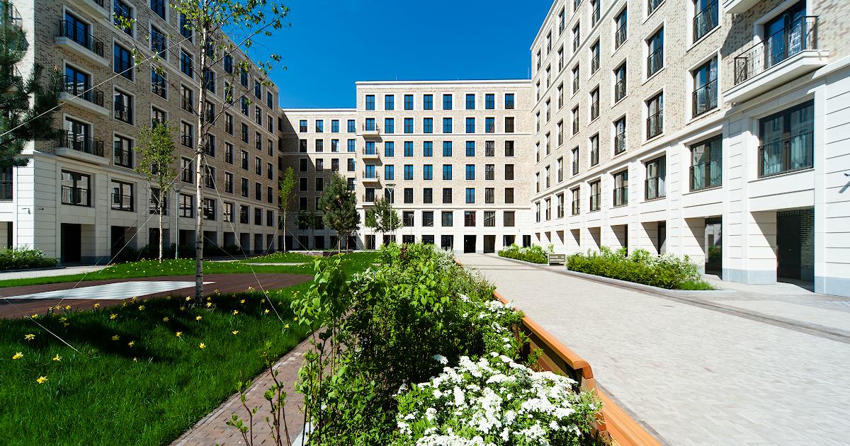 Группа ПСН создала в квартале «I'M на Садовом» «Прерийный сад»