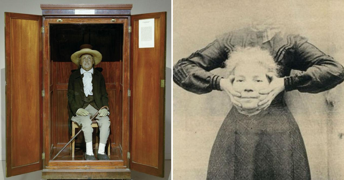 Фото Детские клетки, черные зубы и другие странные поступки наших предков.