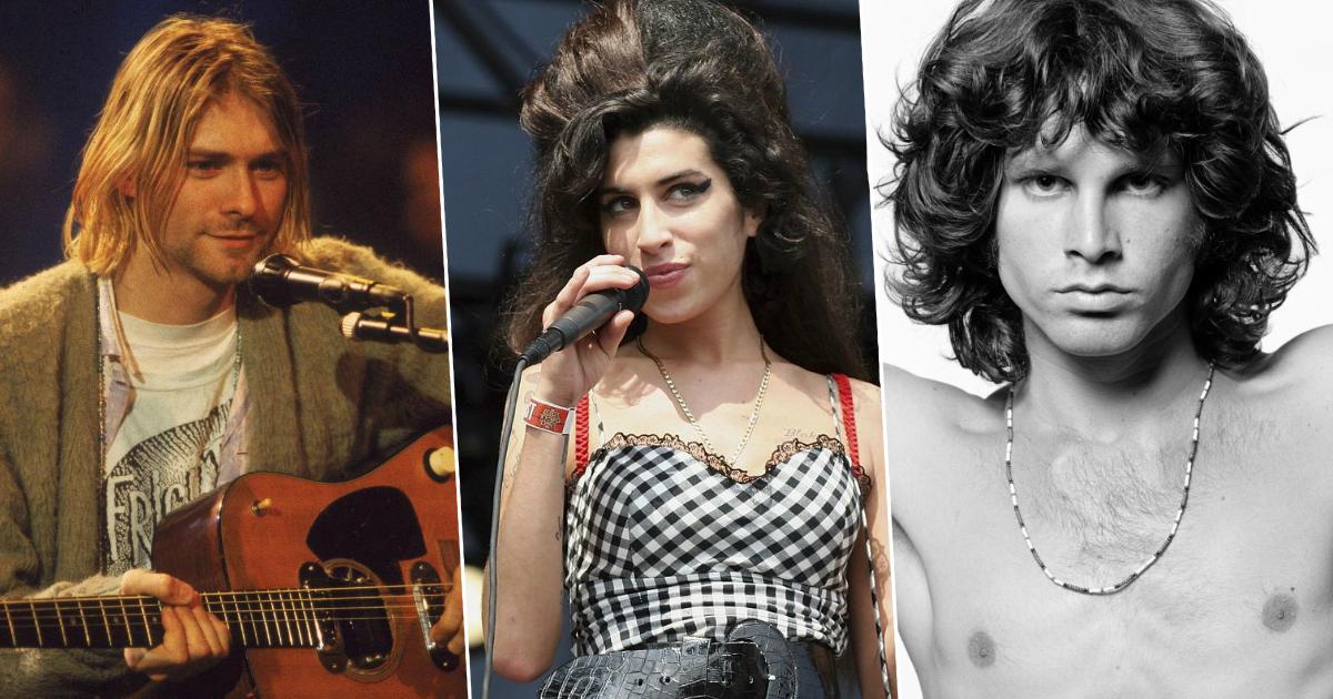 """Фото """"Клуб 27"""": известные музыканты, умершие в молодом возрасте"""