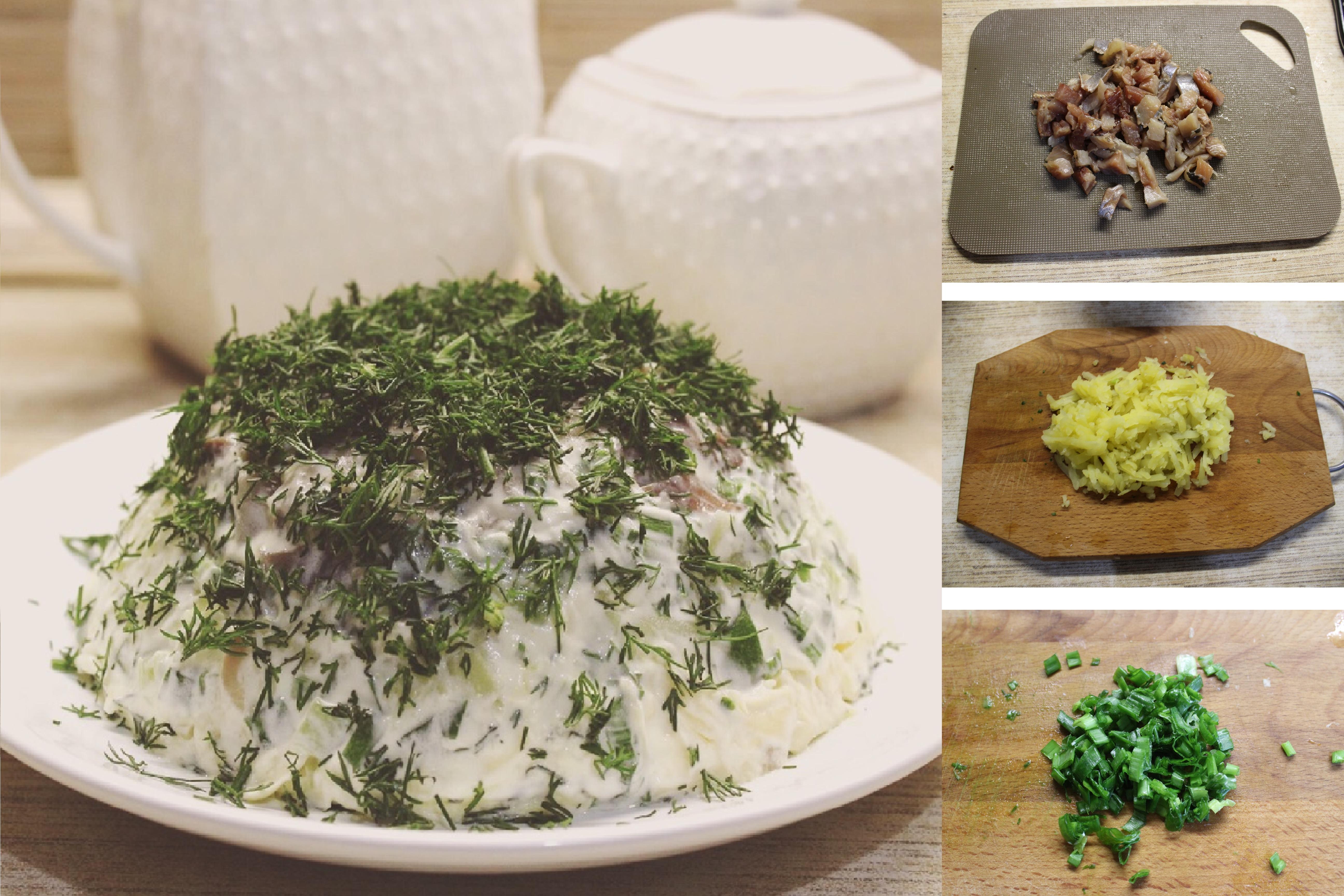 Любимая селедка под шубой по-новому: пошаговый фото рецепт