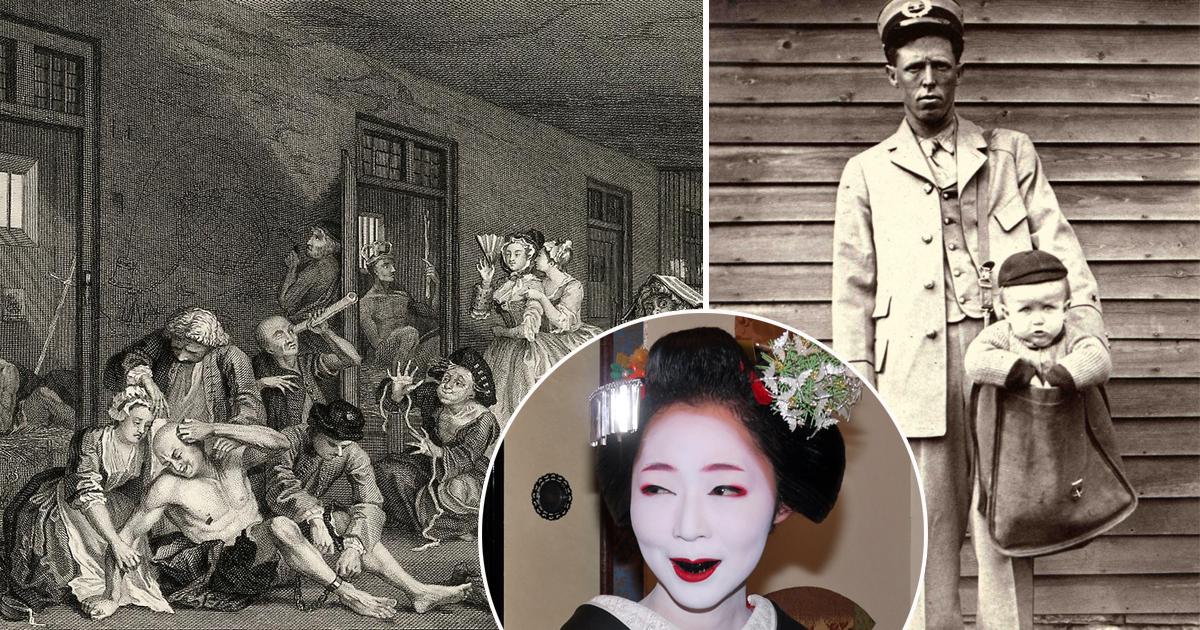 Дуэль супругов и черные зубы: безумные вещи, которые делали наши предки