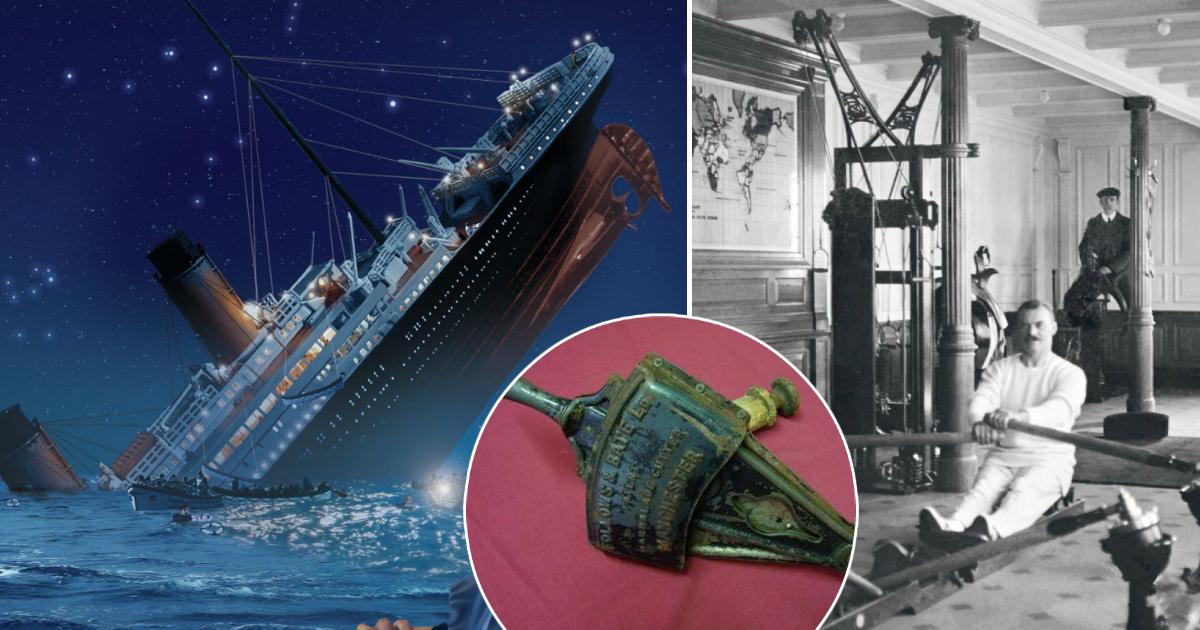 """Фото Странные и неожиданные вещи, которые находились на борту """"Титаника"""""""