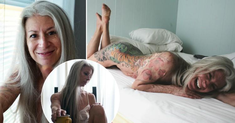 Новый формат: 56-летняя модель доказывает, что возраст сексуальности не помеха