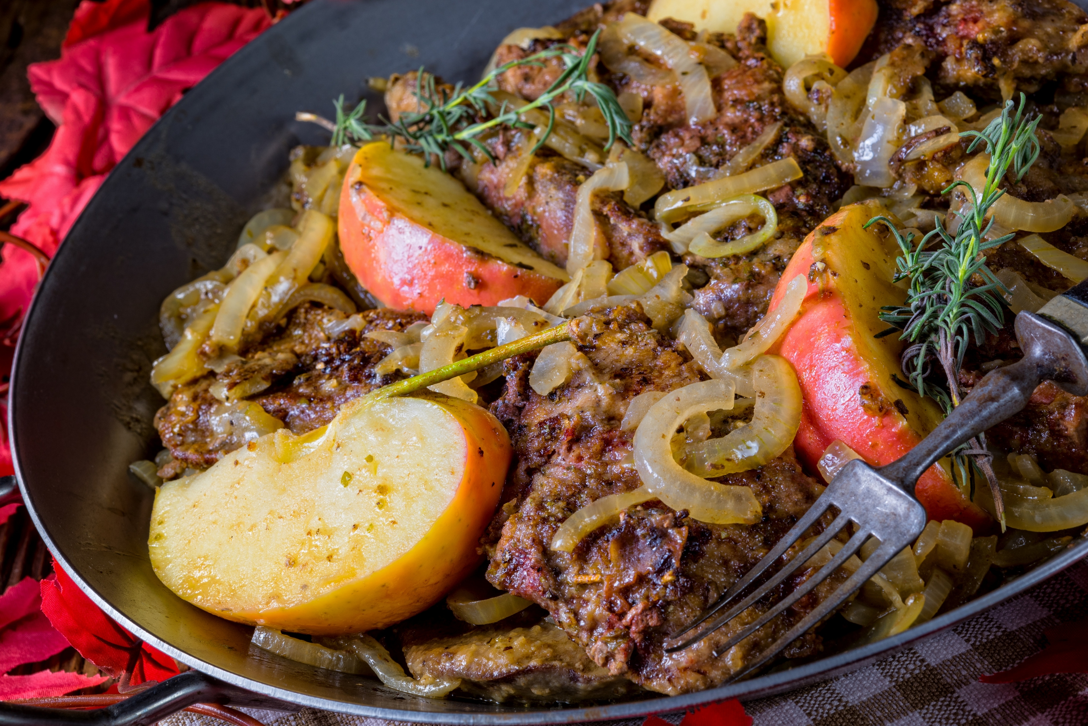 Печень по-берлински – отличный рецепт для начинающих кулинаров!