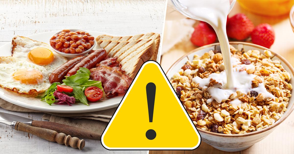 Фото Тосты, яичница и другие популярные продукты, которые нельзя есть на завтрак