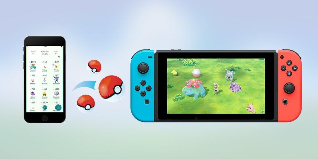 Photo of Pokémon Let's Go! é anunciado para o Nintendo Switch