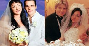 Свадебные платья звезд: 11 редких снимков