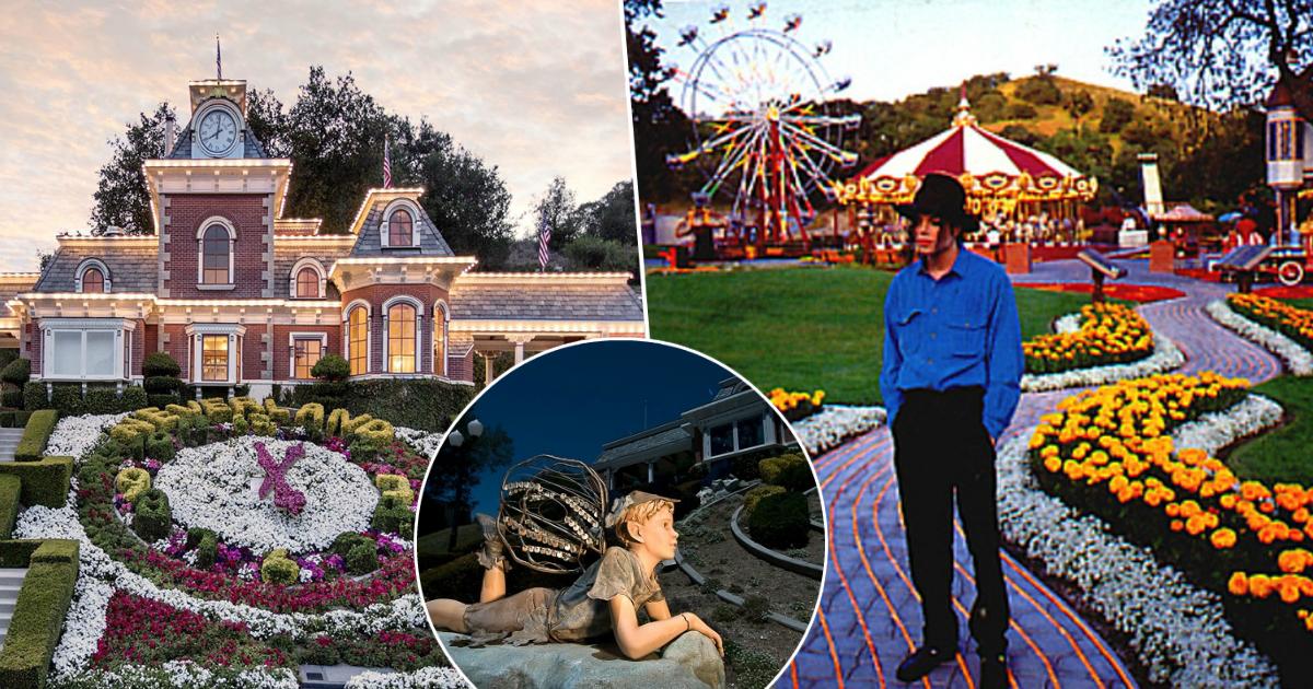 Фото Грустный финал: как сейчас выглядит Neverland – знаменитое ранчо Майкла Джексона