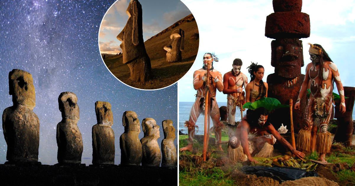 Ученые разгадали загадку строительства таинственных истуканов острова Пасхи