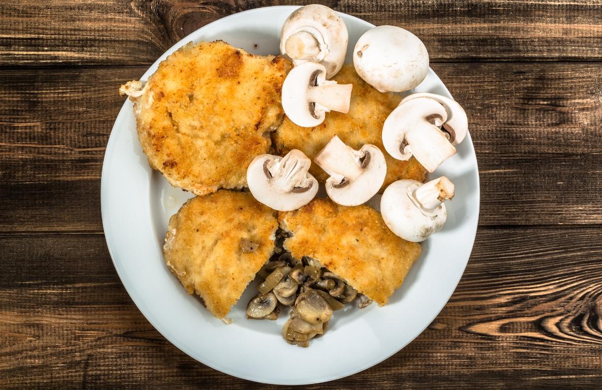 Вкуснейшие куриные зразы с грибами