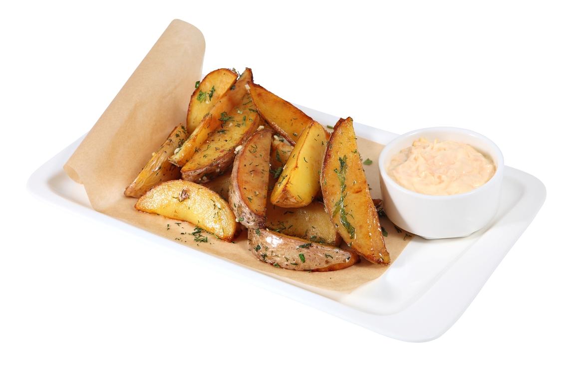 Аппетитный картофель айдахо