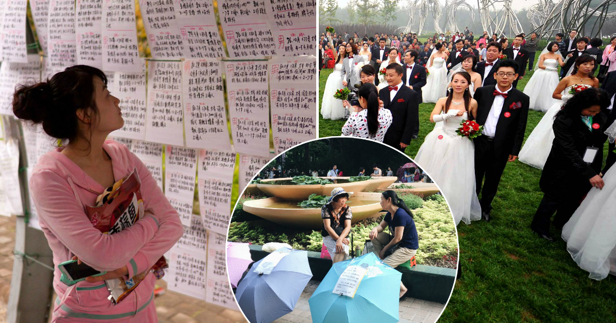 """Фото Любовь по объявлению: как проходят """"свадебные базары"""" в Китае"""