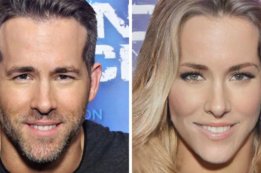 Photo of Com make e peruca, Ryan Reynolds ficaria A CARA da Blake Lively