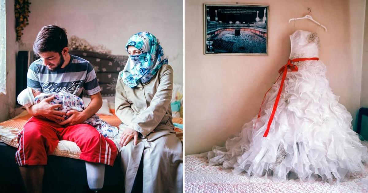 Фото Почему в Сирии до сих пор существуют детские браки?