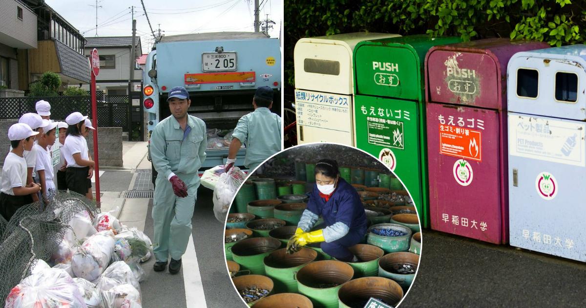 Фото Безотходное производство: как в Японии побороли мусорные свалки