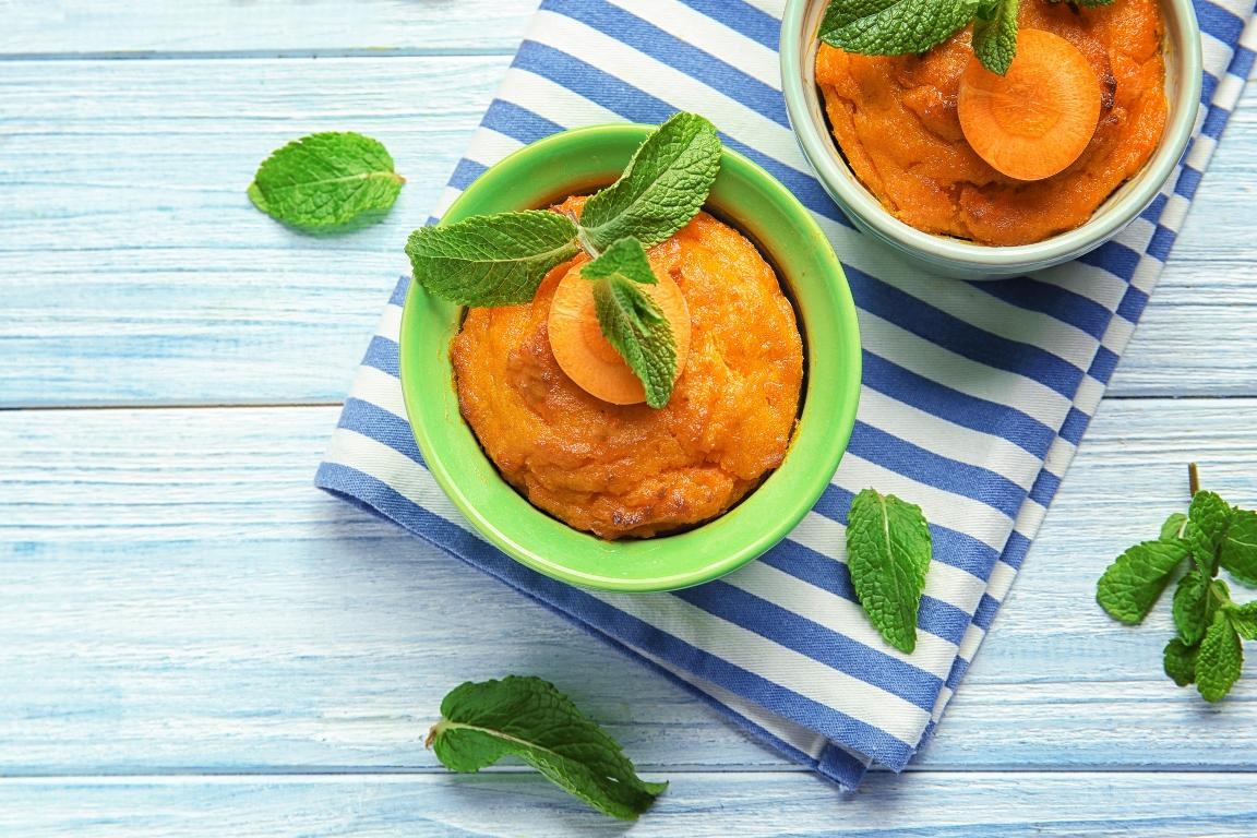 Нежнейшее морковное суфле