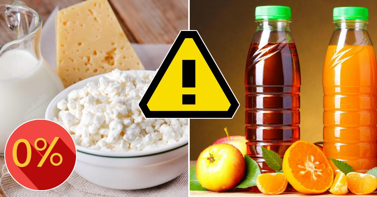 Откажись от обезжиренного. Здоровые продукты, которые вам никогда не стоит есть