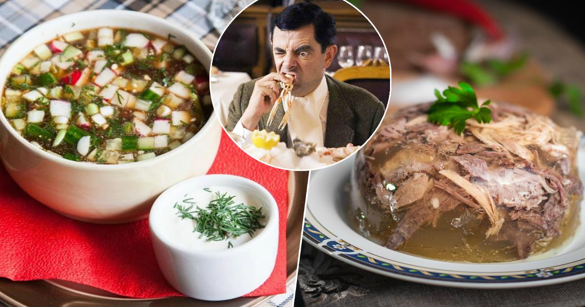 Окрошка, холодец и другие русские блюда, которые вводят в ступор иностранцев