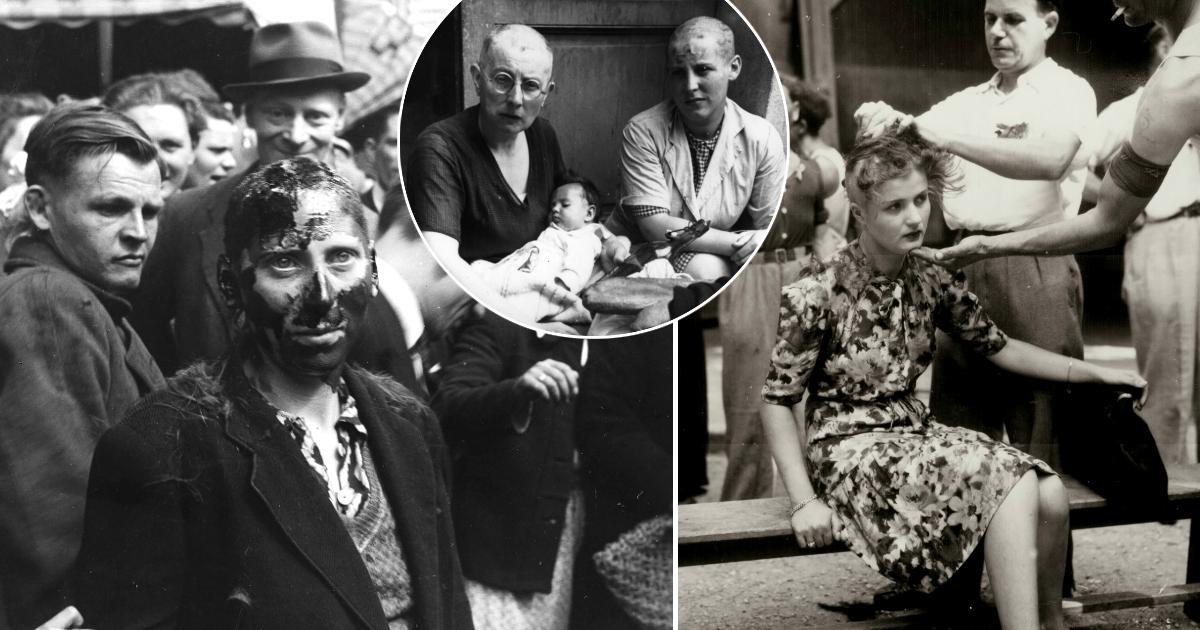 Порочные связи: за что француженкам жестоко брили головы после войны